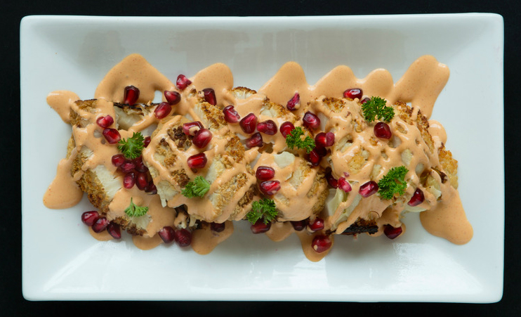 The cauliflower with pomegranate at The Gate. (Courtesy)