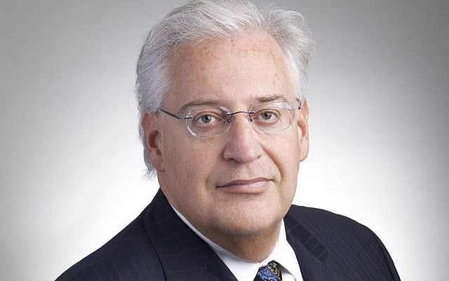 David Friedman, President Donald Trump's choice for ambassador to Israel. (Kasowitz, Benson, Torres & Friedman LLP via AP)