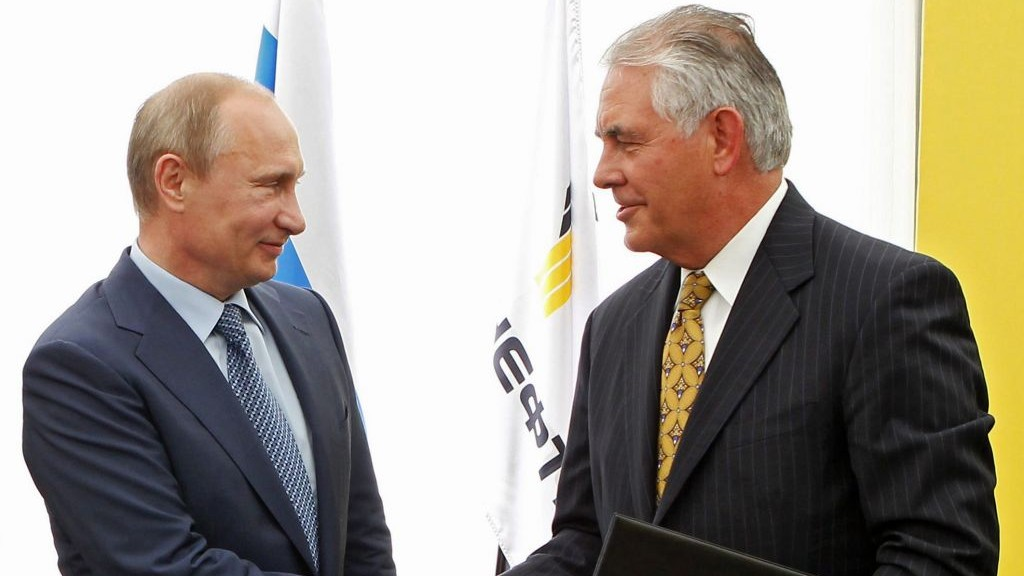 Trump said to select Tillerson for State, dismissing Russia