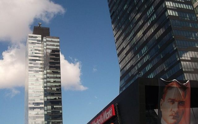 Photo of the Trump Towers in Istanbul built by the Dogan Holding company. (CC BY-SA, Wikipedia)