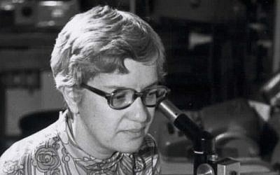 Astronomer Vera Rubin in 1974 (Carnegie Institution of Washington)