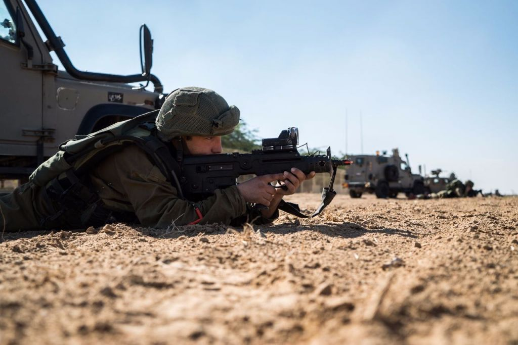 IDF troops conduct a training exercise near the Gaza Strip on December 6 4aff697adf5d4