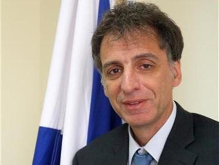 Israel's ambassador to Ukraine, Eli Belotsercovsky (courtesy Foreign Ministry)