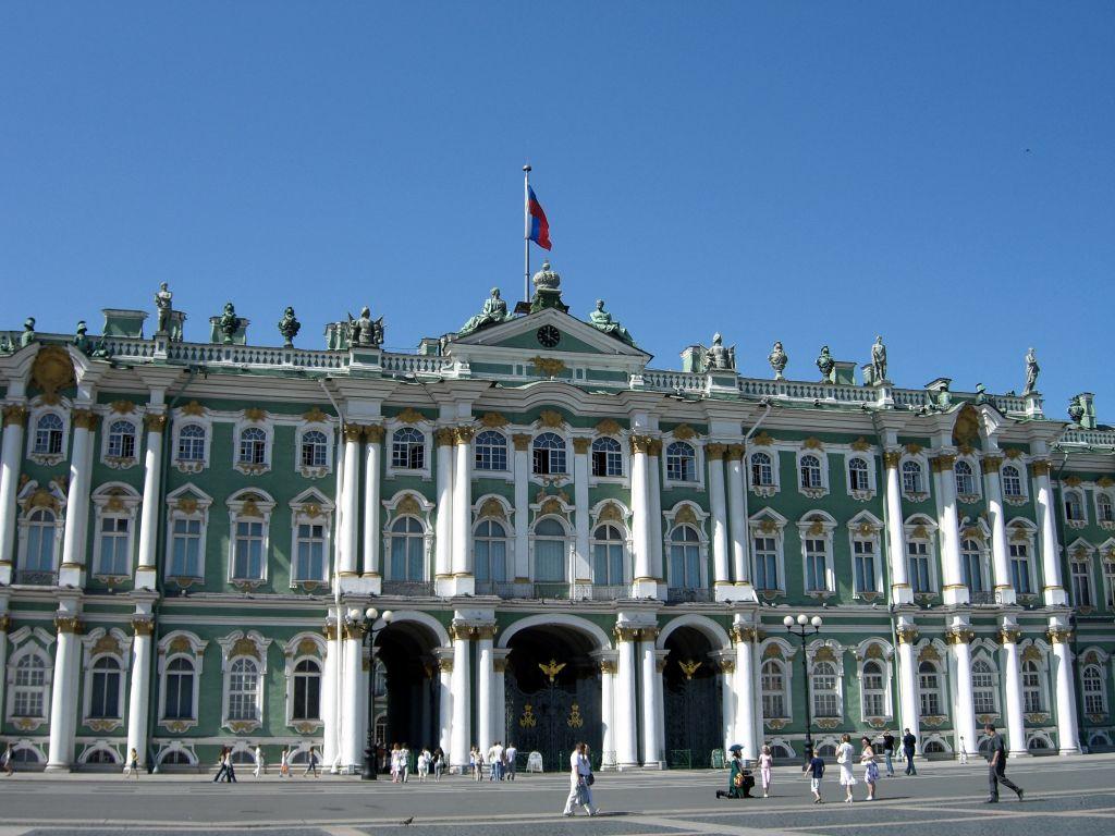 Winter Palace, the Hermitage Museum, St. Petersburg, Russia. (Wikimedia commons/Sasha Petite)