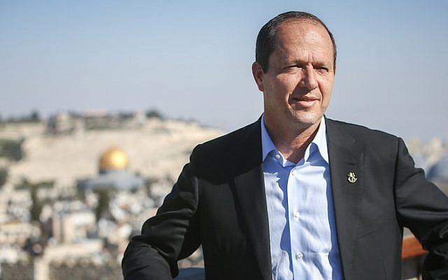 Jerusalem Mayor Nir Barkat (Yonatan Sindel/Flash90)