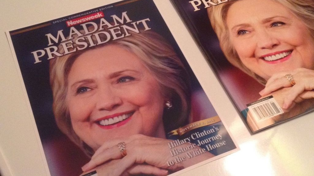 Newsweek Anti Vaxxers Accidentally Fund >> Recalled Newsweek Madam President Issue Hits Ebay The Times Of