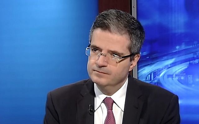 French Ambassador to the United Nations Francois Delattre (screen capture: YouTube)
