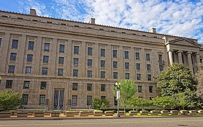 US Department of Justice building in Washington, DC (Roman Babakin/Getty Images)