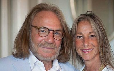 Harold Bornstein, left, and his wife, Melissa. (Facebook via JTA)