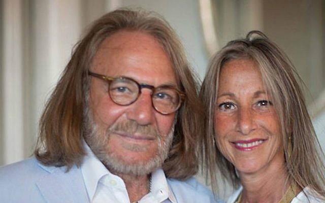 Harold Bornstein, left, and his wife, Melissa. (Facebook via JTA)