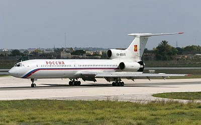 Illustrative: A Russia State Transport Company Tupolev Tu-154M in Malta on October 8, 2004. (Getty Images)