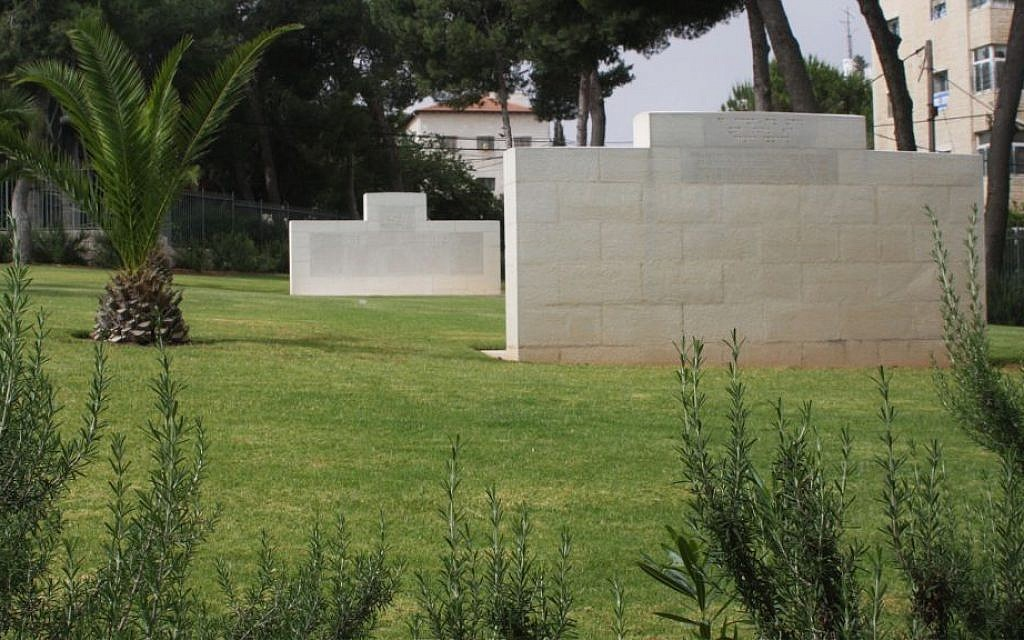 The British cemetery in Talpiot dates back to the Mandate period. (Shmuel Bar-Am)