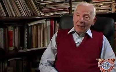 Joseph Rotblat. (Screenshot/YouTube)