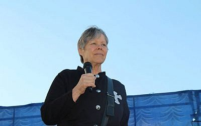 Pastor of the Jerusalem Living Bread Church, Karen Dunham (Karen Dunham)