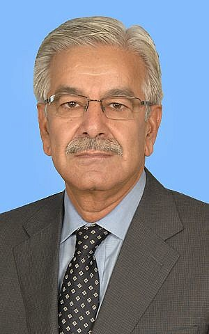 Pakistan Defense Minister Khawaja Muhammad Asif (Courtesy/ National Assembly of Pakistan)