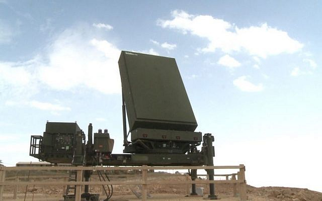 Illustrative: A ELM 2084 MMR made by ELTA in Israel used as part of the David's Sling missile defense system. (US Department of Defense)