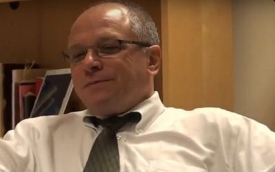Rabbi Jack Paskoff (screen capture: YouTube)