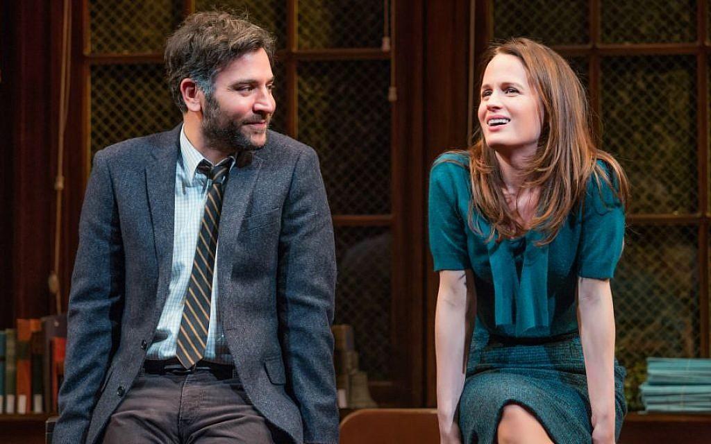 Josh Radnor And Elizabeth Reaser In The Babylon Line Jeremy Daniel Via