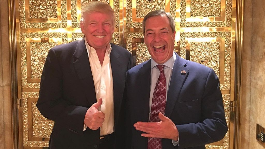 Image result for farage and netanyahu