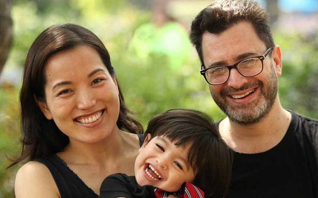 Paul Golin with wife Yurika and their son. (Courtesy)