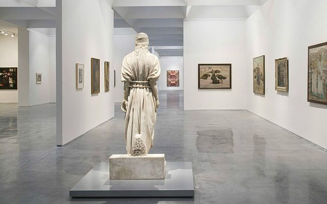 Mark Antokolsky's sculpture of Jesus opens the new exhibit about the complicated figure at the Israel Museum. (Elie Posner/Israel Museum)