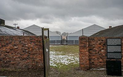 This picture taken on December 2, 2016 in Oswiecim (Auschwitz), Poland, shows barracks at the former Nazi concentration camp. Along with the ruins of the gas chambers and crematoria, the barracks bear witness to Nazi Germany's killing of around 1.1 million people, mostly Jews, at this camp, which it built in 1940 in the southern city of Oswiecim after occupying Poland. (AFP/Bartosz Siedlik)