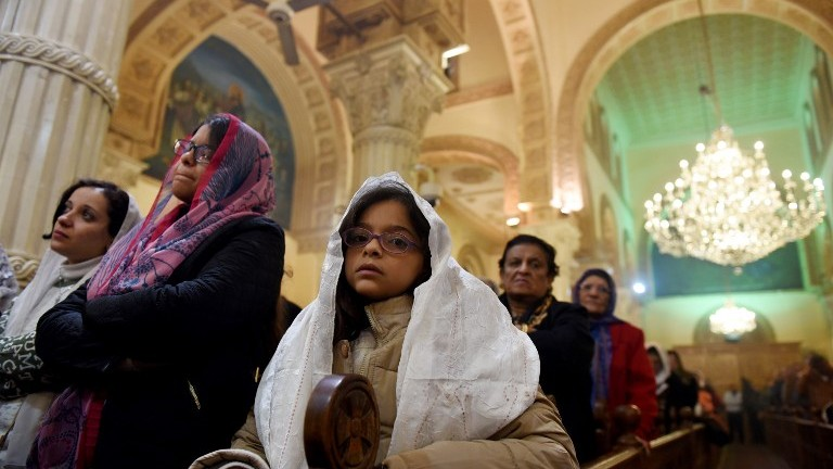 Fearful Egypt Copts mark Christmas after church bombing | The ...