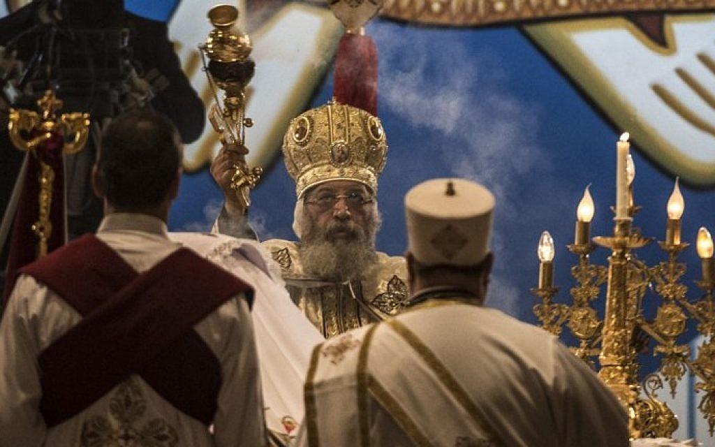 Fearful Egypt Copts mark Christmas