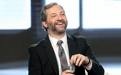 Judd Apatow at the 2017 Winter Television Critics Association Press Tour at the Langham Hotel, in Pasadena, California January 14, 2017. (Frederick M. Brown/Getty Images/AFP)