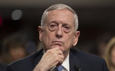 Defense Secretary-designate James Mattis answers questions at his confirmation hearing before the Senate Armed Services Committee on Capitol Hill in Washington, Thursday, Jan. 12, 2017. (AP Photo/J. Scott Applewhite)
