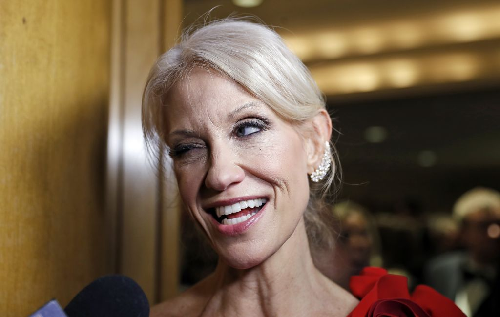 Conway said to punch a man at Trump's ball | The Times of Israel