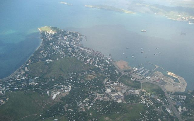 Aerial view of Port Moresby, the capital of Papua New Guinea (Mark Matson/ Wikimedia/Creative Commons)
