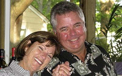 This undated photo provided by Julia Dwyer on Saturday, January 7, 2017 shows her friends, Ann Andres and her husband, Terry, of Virginia Beach, Virginia. (Julia Dwyer/AP)