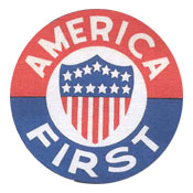A logo for America First Committee (courtesy)