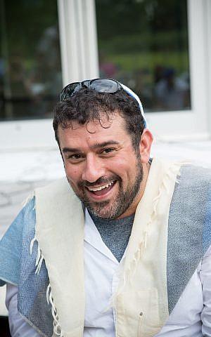 Conservative Rabbi Brent Spodek, spiritual leader of New York's popular Beacon Hebrew Alliance (Meghan Spiro / philasophia.com)