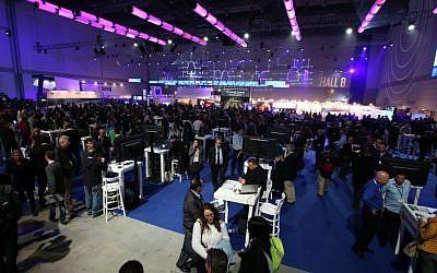 Participants at CyberTech 2016 Conference (Courtesy: Gilad Kavalerchik)