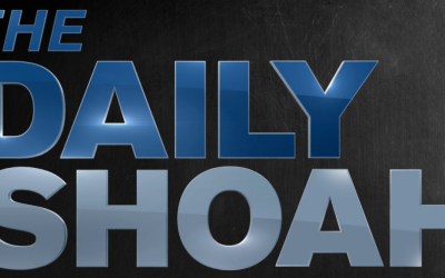 "Logo of the white-nationalist podcast ""The Daily Shoah."" (Screen capture: YouTube)"