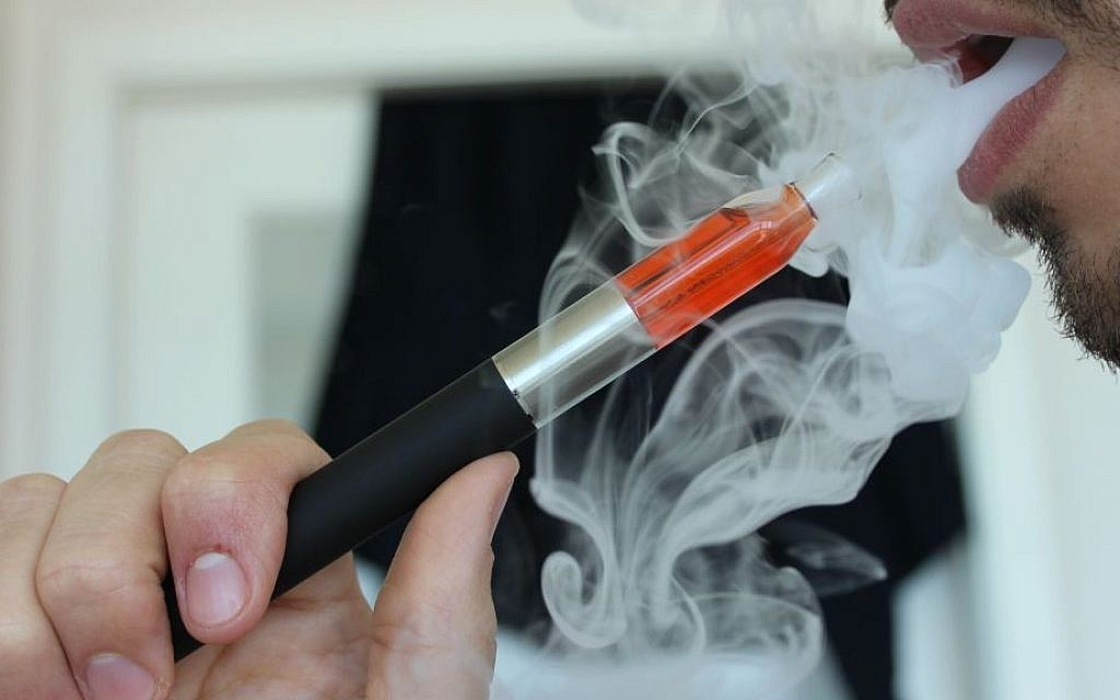 US Jewish day schools 'not immune' to e-cigarette epidemic among
