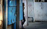 Illustrative photo of a prostitute in Tel Aviv.(Flash90)