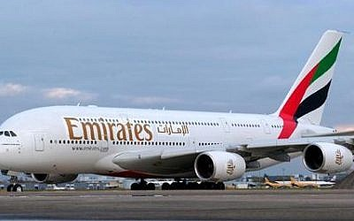 Illustrative photo of an Emirates plane. (CC BY-SA, Wikimedia Commons)