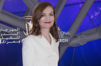 Isabelle Huppert attends the Elle Premiere during the16th Marrakech International Film Festival : Day Four on December 5, 2016 in Marrakech, Morocco. (Photo by Dominique Charriau/Getty Images, via JTA)