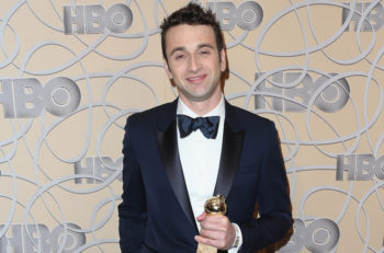 Composer Justin Hurwitz attends HBO's Official Golden Globe Awards After Party at Circa 55 Restaurant on January 8, 2017 in Beverly Hills, California. (Photo by Frederick M. Brown/Getty Images, via JTA)
