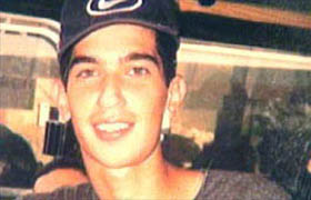 Ofir Rahum, an Israeli teenager who was murdered by Palestinian terrorists after being lured into Ramallah by a woman pretending to be a Jewish girl on the internet. (Foreign Ministry)