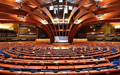 The Council of Europe's Parliamentary Assembly hemicycle (Adrian Grycuk / Wikipedia)
