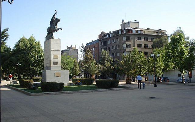 Bustamante park in Providencia, Santiago Metropolitan Region, Chile (CC BY-SA Andrés Reyes, Wikimedia)