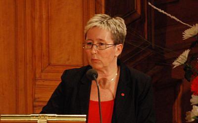 Eva-Lena Jansson, a Swedish politician from the Swedish Social Democratic Party. (CC-BY-SA/Wikimedia)