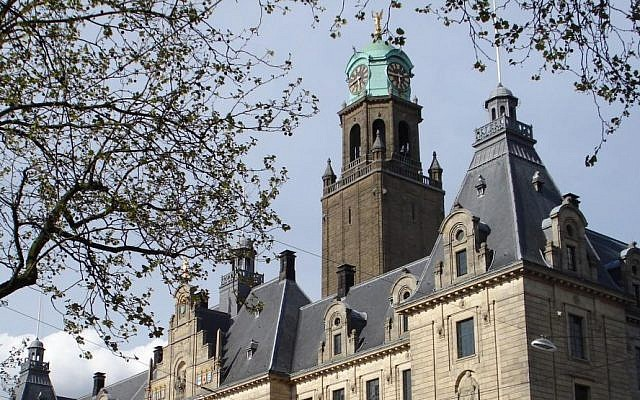 The Rotterdam city hall building, in the Netherlands. (CC BY/Wikimedia)