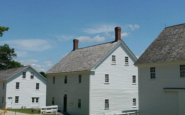 Sabbathday Lake Shaker Village, New Gloucester, Maine. (Wikipedia/Jamie Ribisi-Braley/CC BY-SA 3.0)