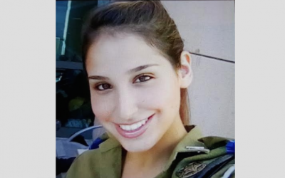 IDF Lieutenant Yael Yekutiel who was killed when a terrorist rammed his truck into a group of Israeli soldiers in the Armon Hanatzivv neighborhood of Jerusalem. January 8, 2017. (Handout photo IDF Spokesperson)
