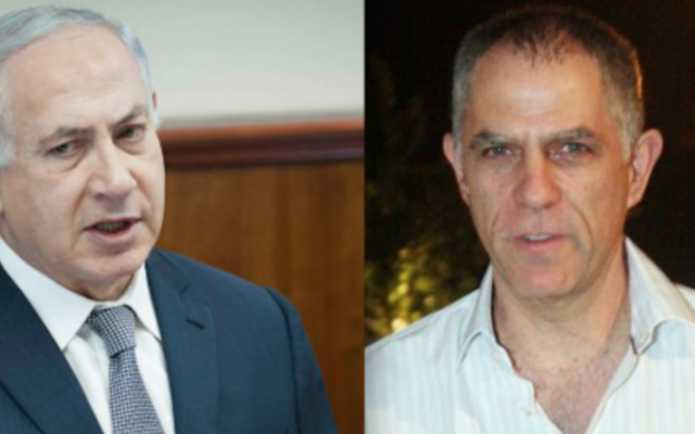 Benjamin Netanyahu and Arnon Mozes (Composite image: Flash90)